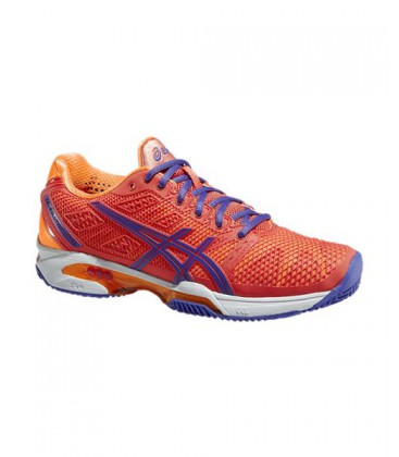 ASICS GEL SOLUTION SPEED 2 CLAY ROJO NARANJA