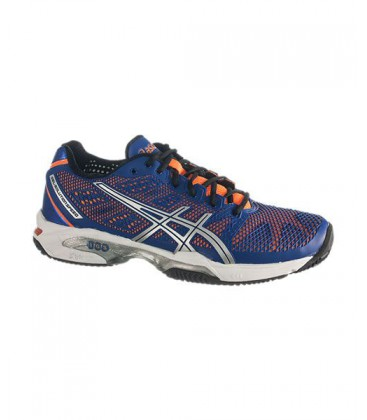 ASICS GEL SOLUTION SPEED 2 CLAY AZUL NARANJA