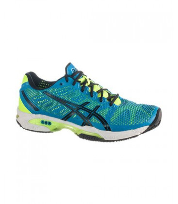 ASICS GEL PADEL SOLUTION SPEED 2 CLAY AZUL CELESTE