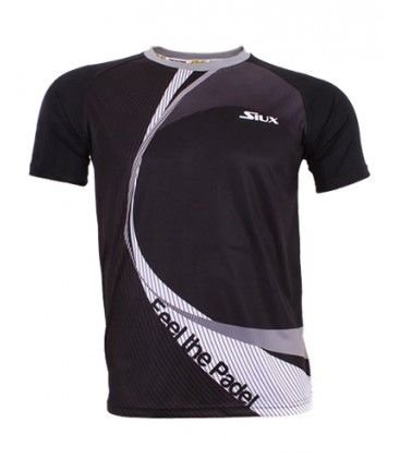 CAMISETA SIUX LINKED NEGRA