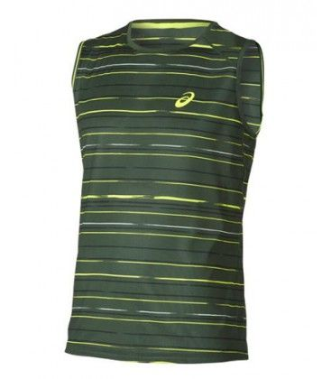 ATHLETE SLEVELESS TOP VERDE