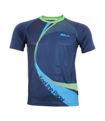 CAMISETA SIUX LINKED AZUL VERDE