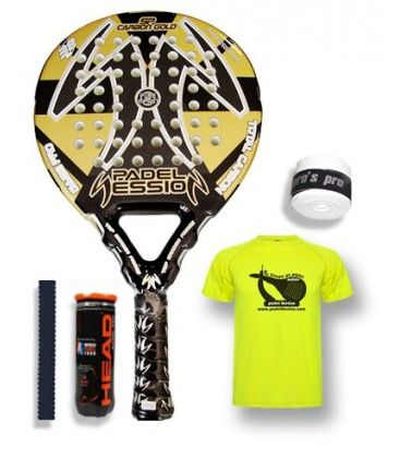 PADEL SESSION SP CARBON GOLD