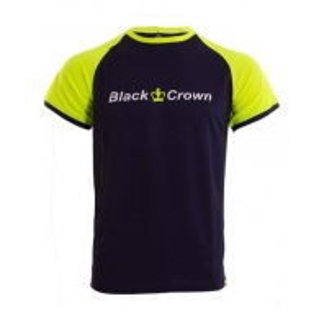 CAMISETA BLACK CROWN X5 MARINO AMARILLO