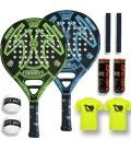 PACK PADEL SESSION MATRIX VERDE O AZUL