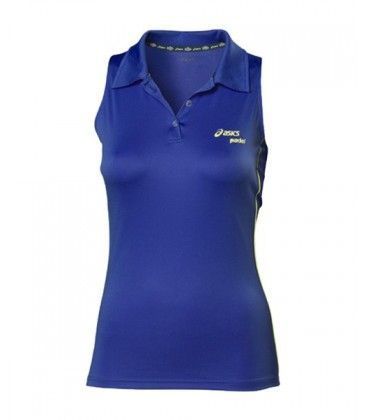 POLO ASICS PADEL SLEEVELESS AZUL 113431 0876