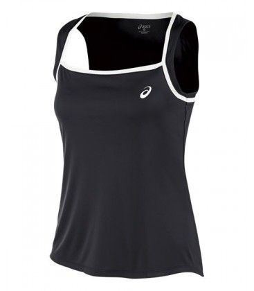 ASICS CLUB TANK TOP NEGRA