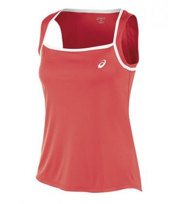 ASICS CLUB TANK TOP CORAL