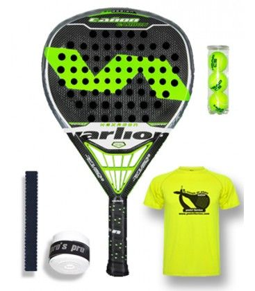 VARLION CAÑON CARBON DIFUSOR HEXAGON VERDE 2014