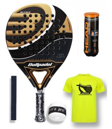 BULLPADEL GOLD EDITION 2015