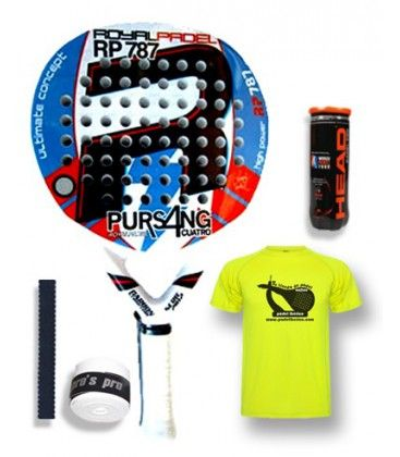 ROYAL PADEL PURSANG 4 ULTRASOFT 2012 AZUL