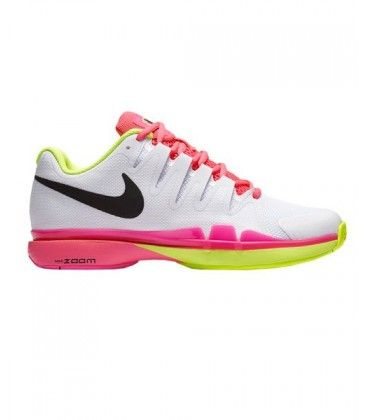 NIKE ZOOM VAPOR 9.5 TOUR CLY WOMAN BLANCO ROSA 649087 107