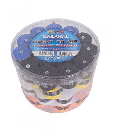 CUBO 60 OVERGRIPS KARAKAL POINT 75 AIR COLORES