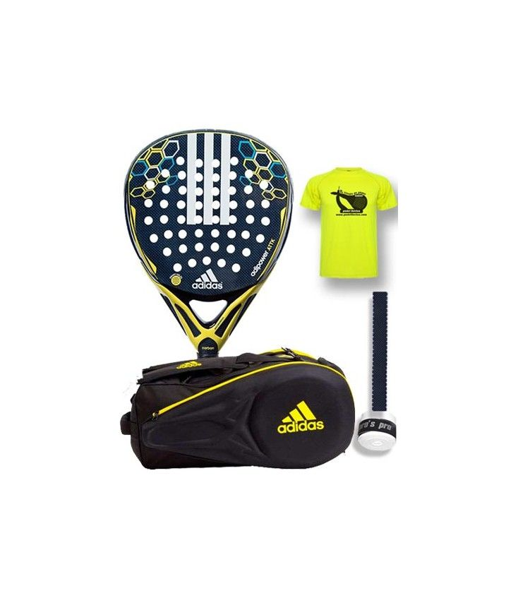 0cb8618b PACK ADIDAS PALA Y PALETERO ADIPOWER ATTACK - Pack Insuperable