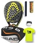 PACK HEAD GRAPHENE XT ALPHA PRO Y PALETERO HEAD TOUR