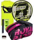 PACK ROYAL PADEL M27 AMARILLA