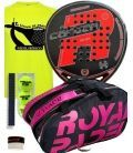 PACK ROYAL PADEL M27 ROJA 2019