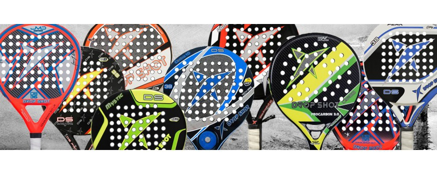 Palas de padel drop shot