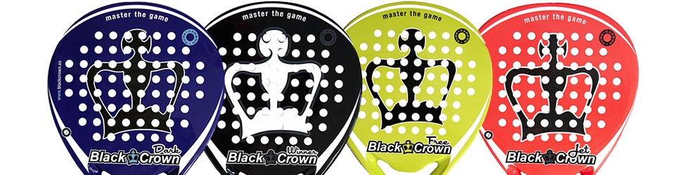 Test de palas Black Crown 2016