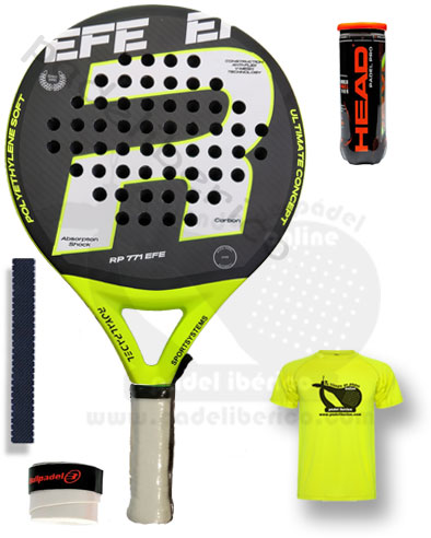 Royal Padel Efe Carbon 2018 – Total Carbon